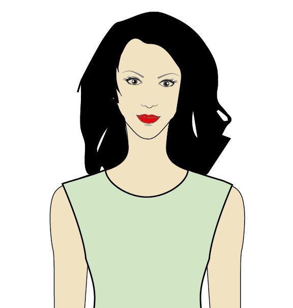 Voor vrouwen met een lang en of smal gezicht is dit een goede halslijn 1d1bb0190